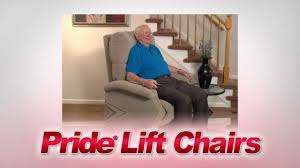 Pride Wall Hugger Lift Chair by Pride Lift Chairs Youtube