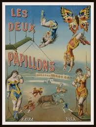 cirque bureau vintage circus posters picture kangaroos and trapped in