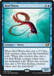 reef worm commander 2014 gatherer magic the gathering