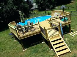 Above Ground Pool Deck Images by Above Ground Pool Deck Pool Toy Storage Ideas Diy Pool Cover