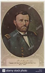 Ulysses S Grant 1822 1885 18th President Of The United States Portrait
