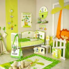 chambre bébé jungle