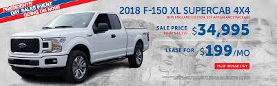 Ford Presidents' Day Sale Deals Offers And Specials In Boston, MA ... 2018 Ford F150 Lease In Red Bank George Wall Celebrate Presidents Day At Sanderson Phoenix Az F250 Super Duty Leasing Near New York Ny Newins Bay Shore Fred Beans Of West Chester Dealership 2003fdf350wreckerfsaorlthroughpennleasetow 2016 Limited Interior And Exterior Walkaround Youtube 0 Down Pickup Truck Beautiful Ford F 150 Xl Crew Cab 250 For Sale Or Saugus Ma Near Peabody Dealer Used Cars Souderton Lansdale Plantation Fl 33317