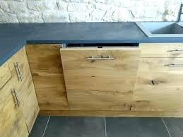 porte de cuisine en bois brut cuisine en bois naturel facade meuble cuisine bois brut meuble