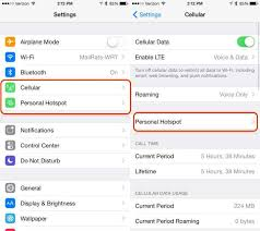 How to Use the iOS 9 Hotspot