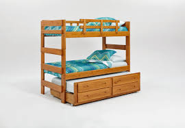 Bunk Beds Columbus Ohio by Chelsea Home Extra Tall Twin Over Twin Bunk Bed With Trundle And