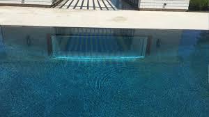 Underwater Swimming Pool Window Installation