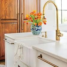Barber Wilson Unlacquered Brass Faucet by Deck Mounted Faucet With Gooseneck Spout Faucet Brass Faucet