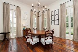 New Orleans White Plates Dining Room Traditional With Gallery Wall Silk Curtains And Drapes