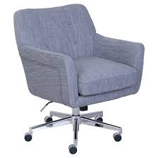 Serta Memory Foam Managers Chair by Ashland Home And Office Chair Light Slate Gray Target