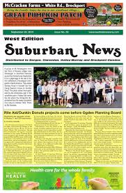 Caledonia Ontario Pumpkin Patch by Suburban News West Edition September 20 2015 By Westside News