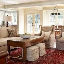 Taupe Sofa Living Room Ideas by Color Scheme With Red Plaid Accents Brown Book Shelves White