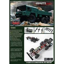 RC4WD Beast II 6x6 Truck KIT 1:14 | Hobby Hunter NZ Tamiya 56348 Actros Gigaspace 3363 6x4 Truck Kit Astec Models Ford F150 The Crittden Automotive Library Toyota Hilux Highlift Electric 4x4 Scale Truck Kit By Meccano New Set 4x4 Building Sets Kits Baby Revell 1937 Panel Delivery 854930 125 Plastic Italeri 124 3899 Iveco Stralis Hiway Model Deans Hobby Stop Colctable Model Car Motocycle Kits 300056335 Mercedes Benz 1851 Gigaspace 114 07412 Peterbilt 359 From Kh