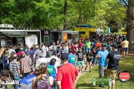 100 Food Trucks Atlanta ORama Grant Park Hitting With 40