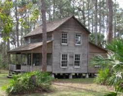 Old Style Florida Cracker House