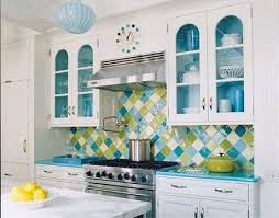 Teal Green Kitchen Cabinets by Best 25 Lime Green Kitchen Ideas On Pinterest Green Bath