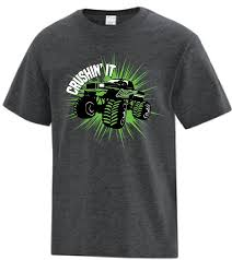 Crushin' It Monster Truck T-Shirt - Youth – Rush Zone Rusty Nuts Tshirt Back Alley Wear Monster Truck El Toro Loco Onesie For Sale By Paul Ward Off Road School Mens Black T0f4huafd Toddler Boys Blaze And The Trucks Group Shot Tshirt 2t Ebay Over Bored Merchandise Vintage 80s Dragon Wagon Tag Xl Fits Large Deadstock Kids Rap Attack Thrdown Truck Tshirt Built4bbq Small Cooler Fast Monster Tshirts 1 Gift Ideas Popular Wonderkids Infant 5th Birthday Boy 5 Year Old Christmas