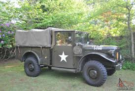 100 7 Ton Military Truck US Army Dodge 34 Ton Truck 1950s S Army Vehicles