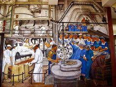 Coit Tower Murals Prints by Pin By Sharon On Off To Work I Go Illustration Pinterest