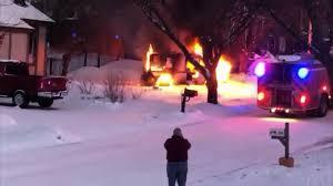 100 Postal Truck Fire Mail Truck Explodes Becomes Rolling Ball Of Fire CNN Video