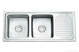 double kitchen sinks with drainboards sink ideas