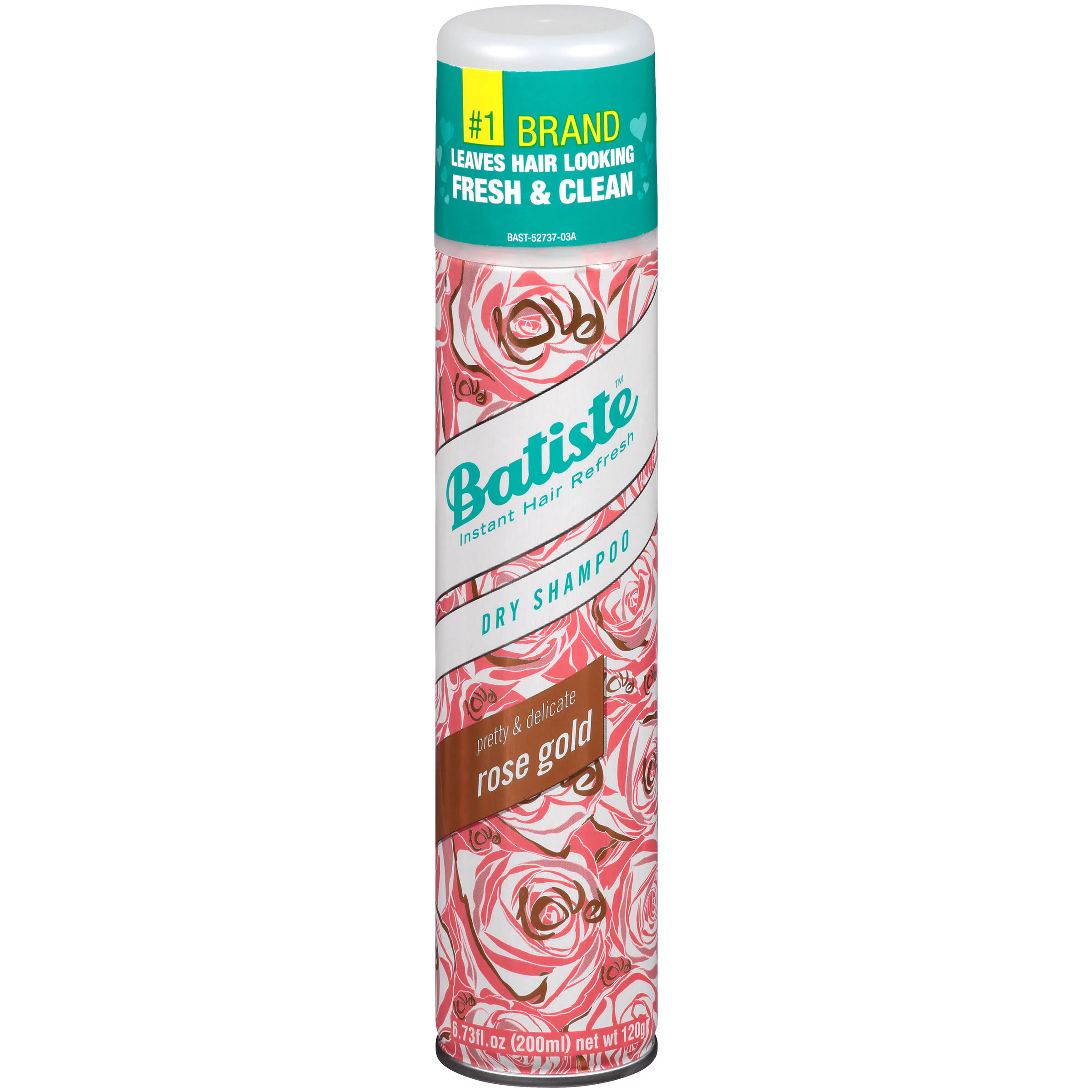 Batiste Dry Shampoo - Rose Gold, 200ml