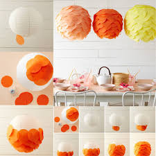 Adding Tissue Paper Circles To Any Color Lanterns Is An Easy Way Customize Dress Them Up