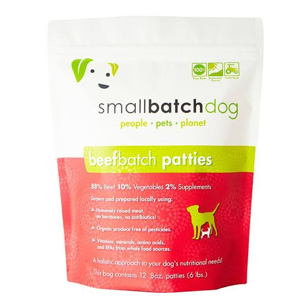 Smallbatch Beef | Dog Food 3 lbs - Sliders | Crude Protein