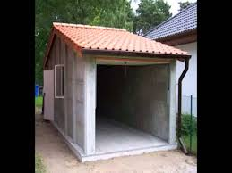 Cheap Shed Roof Ideas by Cheap Car Garage Design Ideas Youtube