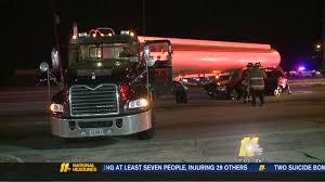 100 Tanker Truck Crash Van Collides With Tanker Truck In Durham Abc11com