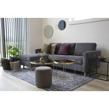 sofa mars dunkelgrau garnitur polstersofa stoffrosa