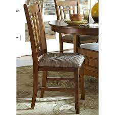 Oak Kitchen Chairs Liberty Oak Mission Upholstered Dining Chair Set ...