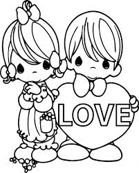Printable Precious Moments Coloring Pages Full Size Of Love Text Large