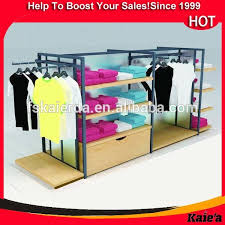 Shop Portable T Shirt Floor Display Stand Racks