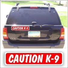 100 Truck Magnet Amazoncom Solar Graphics USA Ic Sign Caution K9