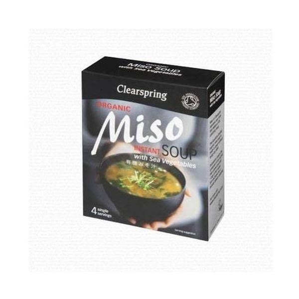 Clearspring Organic Japanese Brown Rice Instant Miso Soup Paste - 15g