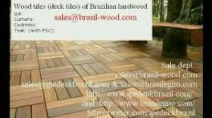 Ipe Deck Tiles This Old House by Wood Tiles Deck Tiles Patio Tiles Youtube
