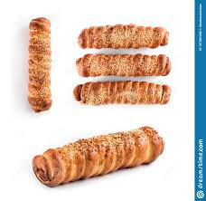 100 Golden Crust Sausage In The In The Ruddy Dough With A