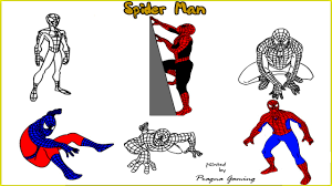 Spiderman Coloring Online Free Kids Game