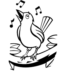 Bird Coloring Pages Themed 6