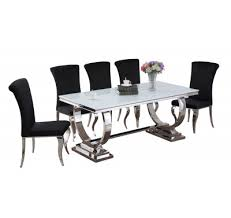 Details Arianna Venice Dining Table White