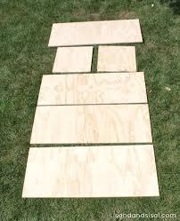 diy outdoor storage box bench sand and sisal