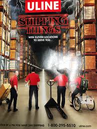 Shipping Things A Uline Order Catalog I Found At
