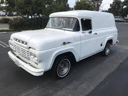 Cool Ford 2017: 1959 Ford Other WHITE 1959 FORD PANEL TRUCK Check ... 1959 Ford Panel Van Chevy Apache For Sale 55 59 Chevrolet Task Force Mercury M Series Wikipedia F100 Stock Photos Images Alamy Hemmings Find Of The Day 1958 Panel Van Daily Ford 12 Ton Panel Delivery Truck Truck For Classiccarscom Cc1114838 1957 1960 Fridge Engine Joe Restoration Retyrd Photo Image Gallery Sneak Peek Alert This Truck Is Currently Shifting Home Farm Fresh Garage