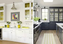 Gorgeous Gray Kitchen With Yellow Accents O 04 December 2012