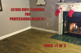 Grip Strip Vinyl Flooring by Installing Vinyl Peel U0027n Stick Plank Flooring Video 1 Of 3