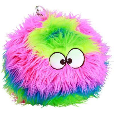 Godog Furballz Rainbow Large with Chew Guard