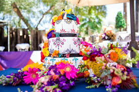 Mexican Themed Wedding Cake 07