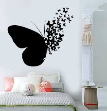 Vinyl Wall Decal Butterfly Home Room Decoration Mural Stickers Unique Gift 395ig