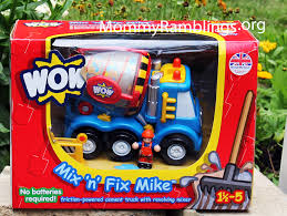 100 Wow Truck WOW Toys Mix N Fix Mike Friction Powered Cement Review